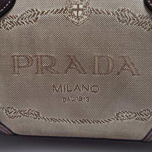 Prada Bags - PRADA Canapa Handle Bag